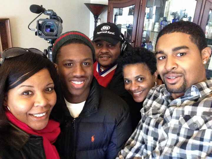 Today's shoot went great with professional cast and crew.  Shout out to Aikan Acts Casting & Nakia Dillard