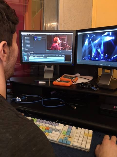 Great day editing a Promo for Heffron Drive's new music video, coming out soon!
