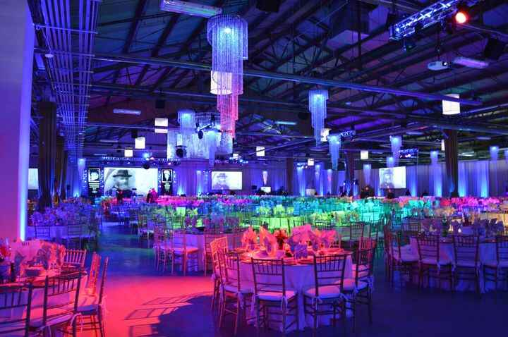 3500 Women from over 70 countries around the world gather at the Brooklyn Cruise Terminal for a seated Gala.