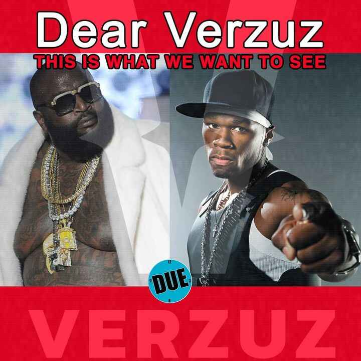 This would be the biggest @verzuztv battle ever!   @50cent  vs @richforever #verzuz Tag them.................#hiphop #ra...
