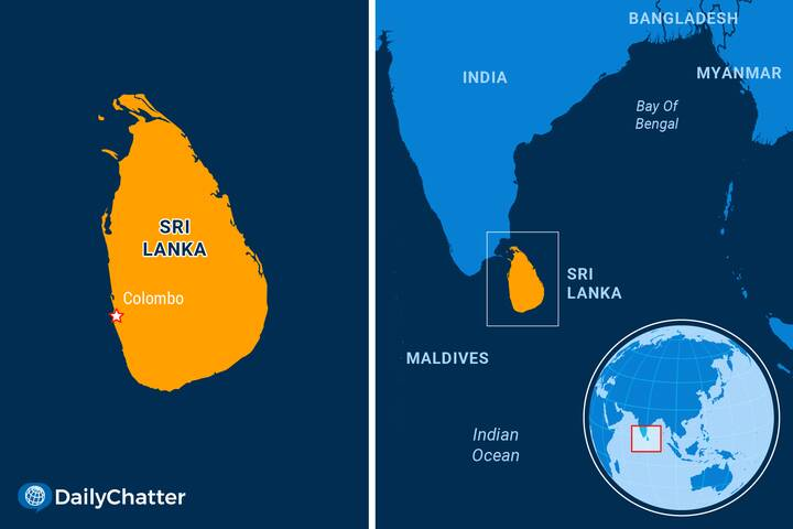 Smoke from the burning container ship X-Press Pearl polluted the skies off #srilanka 's west coast. Now, Sri Lankans are...