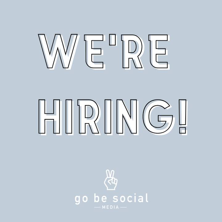 We're hiring ALL POSITIONS!Social Media ManagersSocial Media InternPT Lifestyle PhotographerPT Graphic DesignerWe are lo...