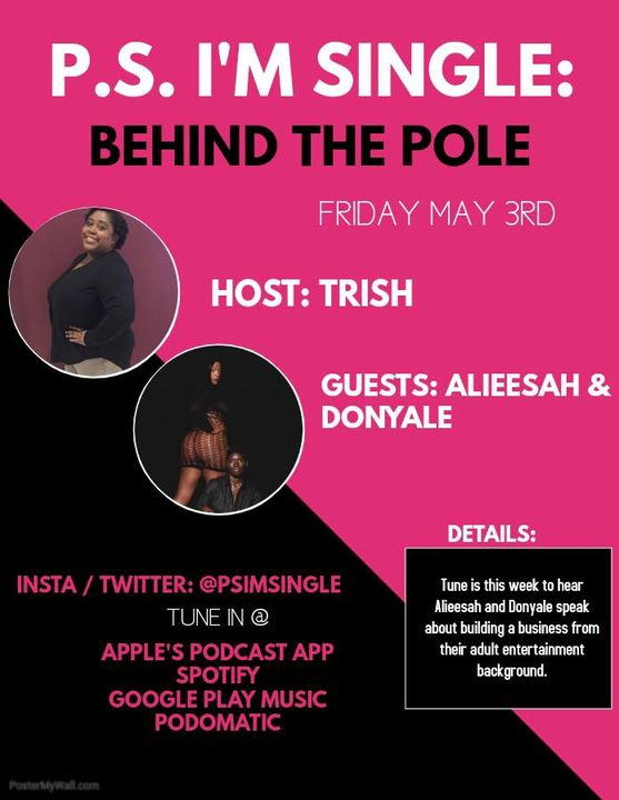 #motivationmonday School's In Session BEHIND THE POLE with THE DON @thedonofdivas & Alieesah @alieesahlateazz of @exotic...