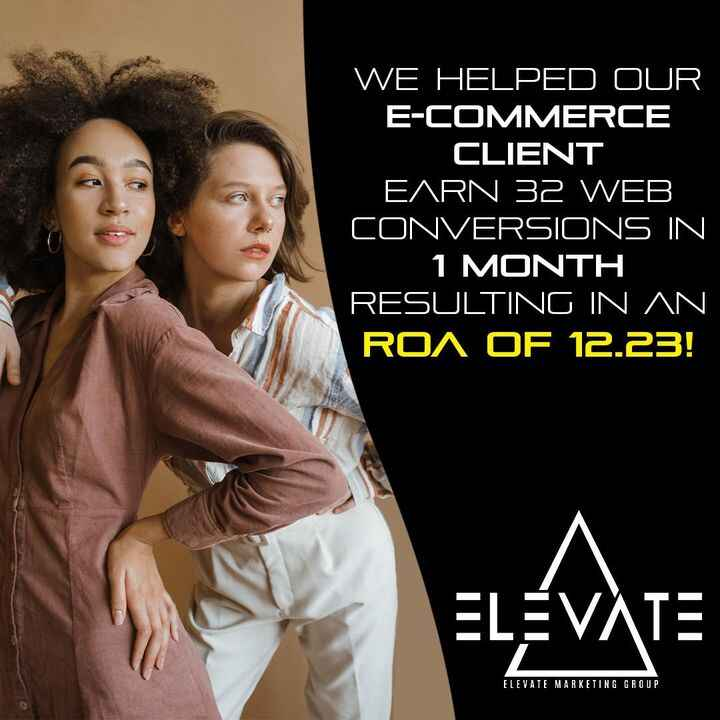 One of our clients run a clothing boutique. They came to us with a need to convert more sales! In just one month with us...