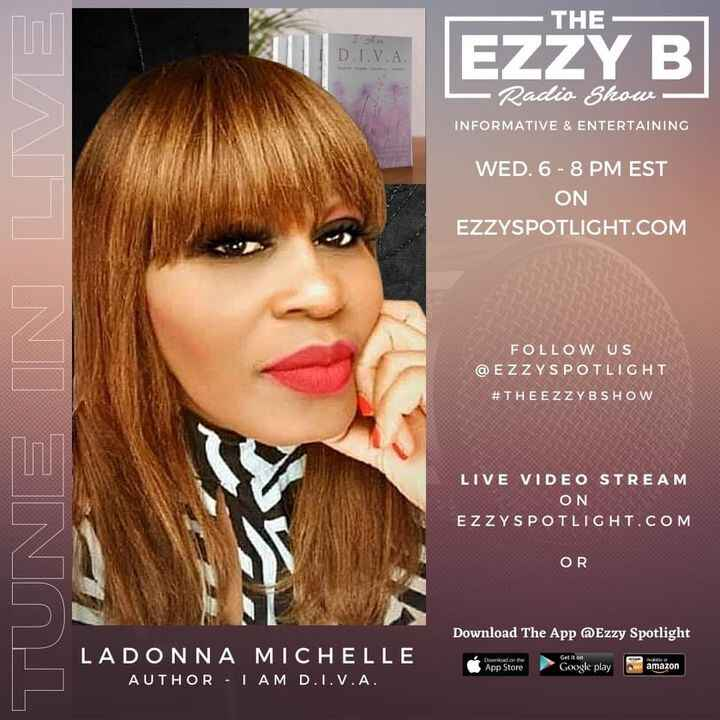 Join us LIVE on The Ezzy B Show Wednesday, April 21st at 6:30 pm est. from the Carribean Islands, London and back to the...