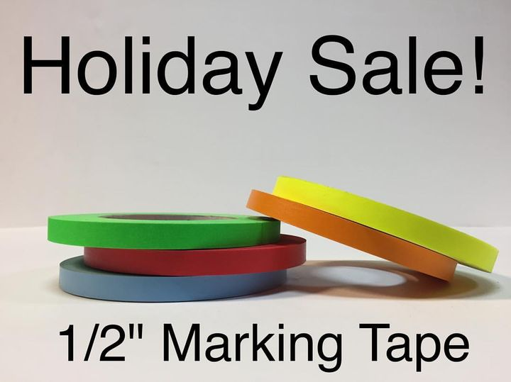 """Save 35% on 1/2"""" marking  tape!  5 color leash for $20 with pickup or $25 with USPS priority shipping!  Email eastcoaste..."""
