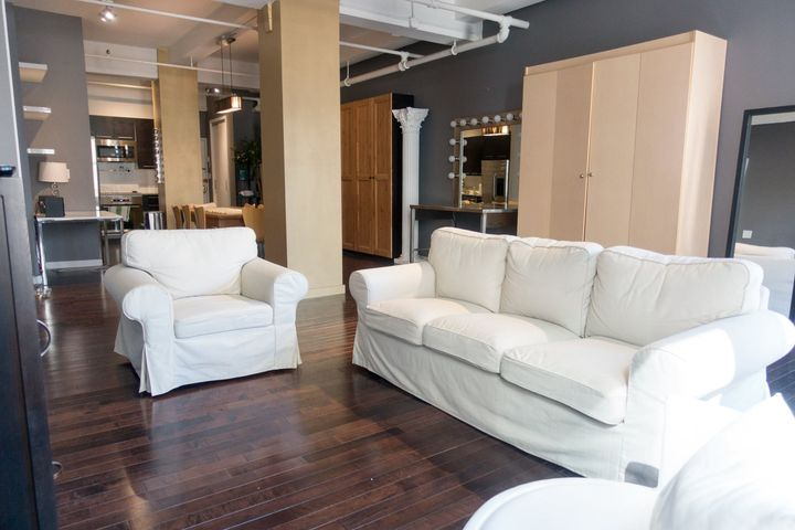 Interested in a lounge area for meetings? Our Spoon Loft is perfect for meetings or as a client lounge to accompany our ...