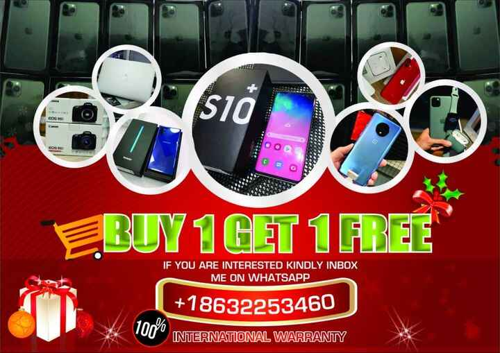 whatsapp chat +18632253460 for more details with the Chirstmas Offer Buy 1 Get 1 FREE Still Available With EMI PAYMENT.