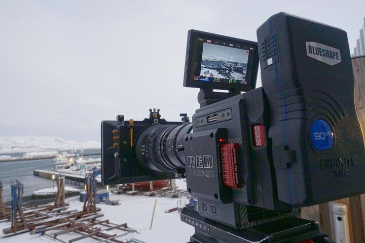 Take me back. Pressed up against the AC unit missing winter in Iceland. ....... #setlife #filmmaking #red #r3d #epicdrag...