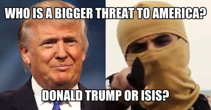 who is the bigger threat?