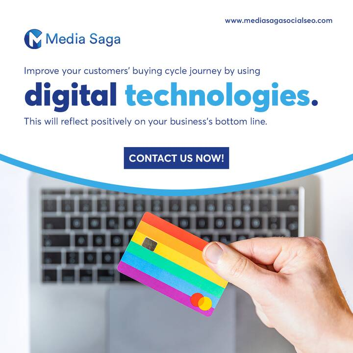 Improve your customers' buying cycle journey by using digital technologies. This will reflect positively on your busines...
