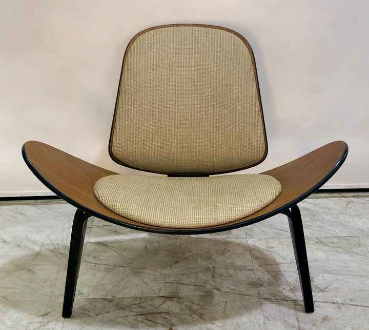 Available for  rental @sonypicturesprops .......           1963 mid century danish modern, Hans Wegner  shell chair . #d...