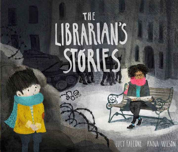 """Happy book birthday to """"The Librarian's Stories"""" by Lucy Falcone and Anna Wilson!A town is left in ruins after the bombs..."""