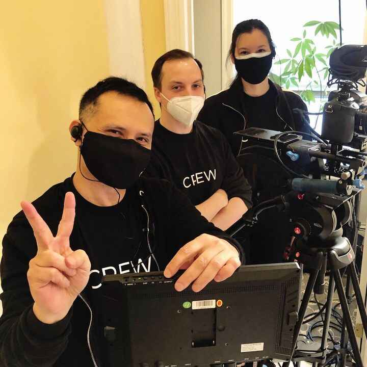 Filming in the midst of a pandemic. Keeping all precautions in place and our spirits high! #caipa #chinesenewyear••#digi...