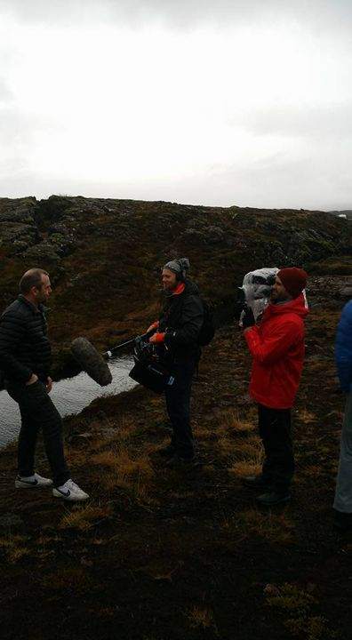 Amazing shoot day at the Silfra Rift in Iceland. Only place in the world you can touch the euroasian and Noth American t...