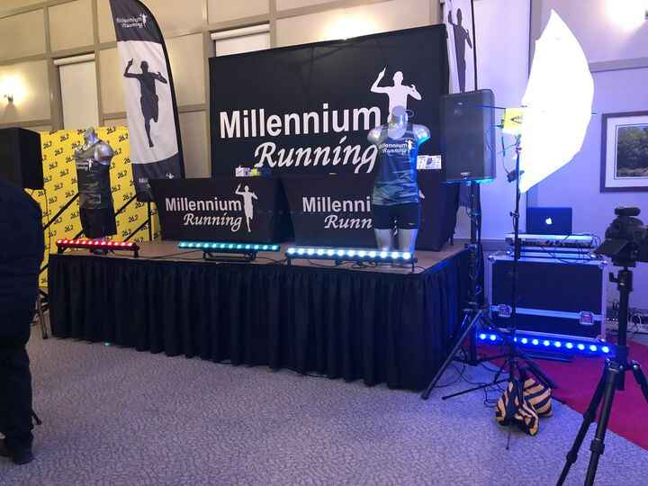 """Back in March we had the privilege to provide Millennium Running with DJ & Lighting Services for their """"2018 Celebration..."""