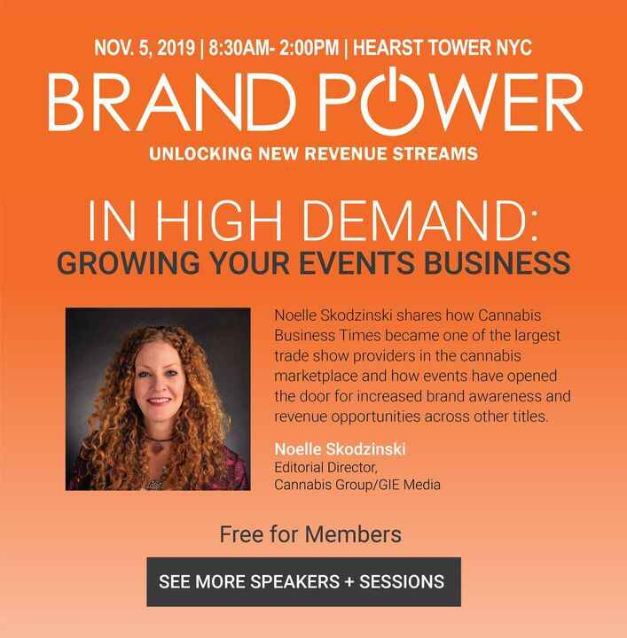 Light up your event revenue! Don't miss this presentation by Cannabis Group's Noelle Skodzinski on growing your events b...