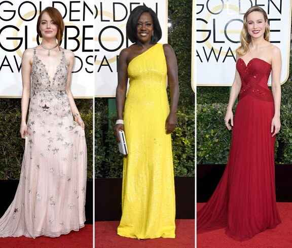The #goldenglobes belles were #stunning last night. Congrats to all the #winners