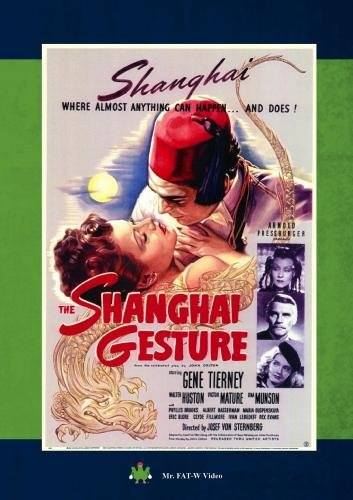 The Shanghai Gesture (1941). Starring Gene Tierney in this classic film noir! A young woman, Poppy, out for excitement i...