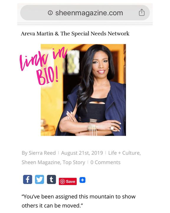 Check out my interview with CNN Analyst, TV Personality and Harvard Law Attorney – Areva Martin! I really enjoyed writin...