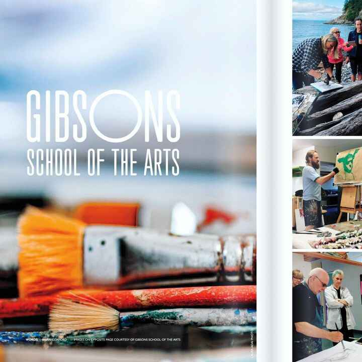 """""""Many believe it is the very soul of the vibrant art culture that exists on the Sunshine Coast."""" - writes Brian Coxford ..."""