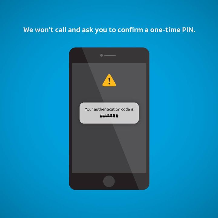 Stay alert. Spot and avoid scams. This post can help: http://go.att.com/3c19991d