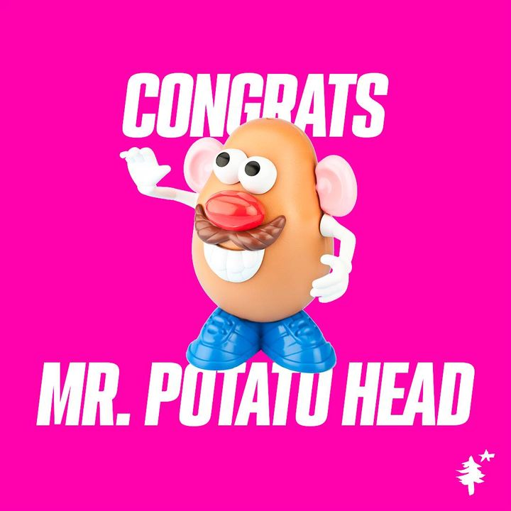 Congrats Mr. Potato Head! You were the first toy ever advertised on TV back in April of 1952! How'd it feel to pave the ...
