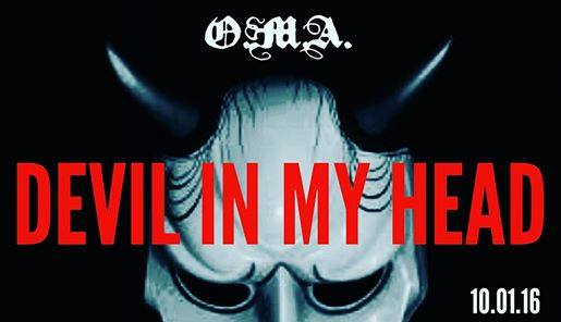 """""""Devil In My Head"""", the new single from O.M.A. available for FREE Download this Saturday exclusively on soundcloud.com a..."""