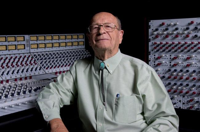 Thanks for everything, Rupert Neve. You made music sound better for everyone.