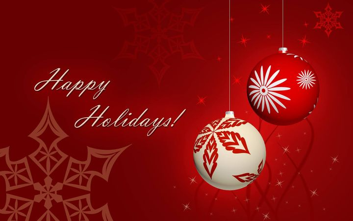 WISHING YOU AND YOUR FAMILY A HAPPY HOLIDAY AND A HEALTHY AND PROSPEROUS 2019! Our office will be closed from December 2...