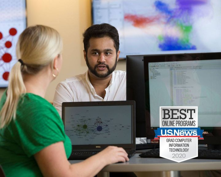 #Ad Create new career pathways with your MS Information Technology. Our program is 100% online, and ranked #10 by U.S. N...