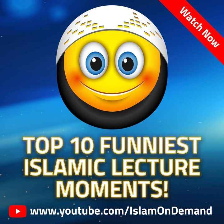 """New Release: """"Top 10 FUNNIEST Islamic Lecture Moments!"""" - https://youtu.be/QGpaKrjF7mA - Watch, like, share... and LAUGH..."""