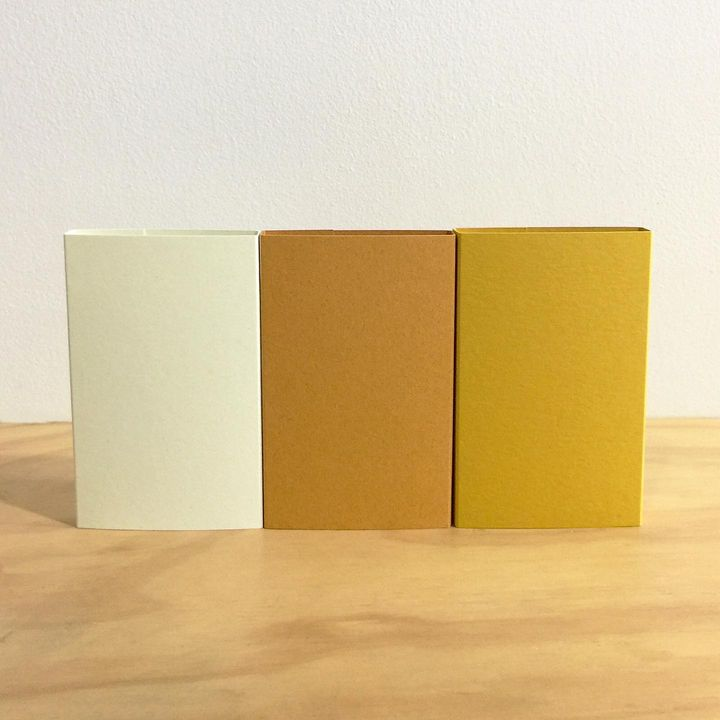 O cards mint green, straw and yellow (and hemp white)#ocards #cassette #cassetteculture #musicpackaging #printshop #blan...