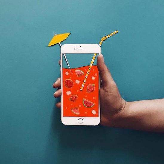 Have a great weekend :)Anshuman Ghosh creates a quirky world using his iPhone. With seamless illusions, he transforms h...