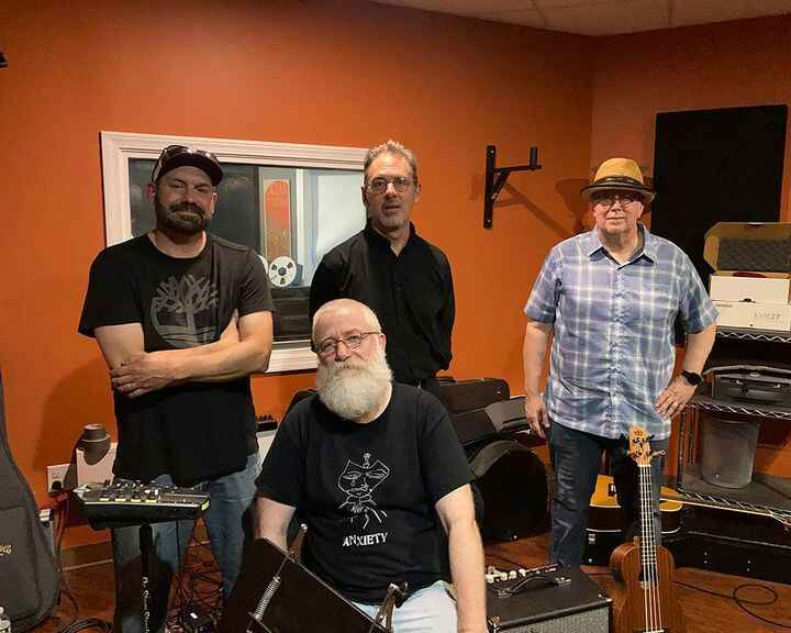 An Overnight Low was at Garage Mahal Recording yesterday and we took an old school approach: they set up in a circle and...