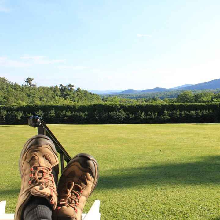 Kick back, relax and enjoy the Fresh Air, Natural Beauty and Splendor of our glorious CAPITAL REGION......We Love it her...