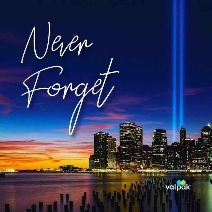A day of reverence and reflection. Our office will be closed today in observance of Patriot Day. #NeverForget