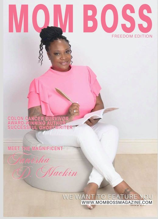 Both honored and blessed to grace the cover of Mom Boss Magazine 👑 for the full interview visit https://www.mombossmagaz...
