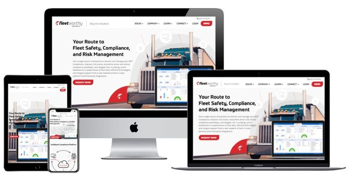 Website launch alert! Fleetworthy.com a complete redesign of more than 300 pages keeping existing SEO and redirects in m...