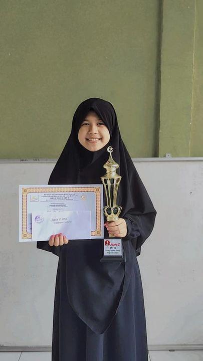 Alhamdulillah...Selamat kepada ananda kami Naila Alifa Putri yg berhasil meraih Juara 2 Lomba Ceramah tingkat remaja dlm...