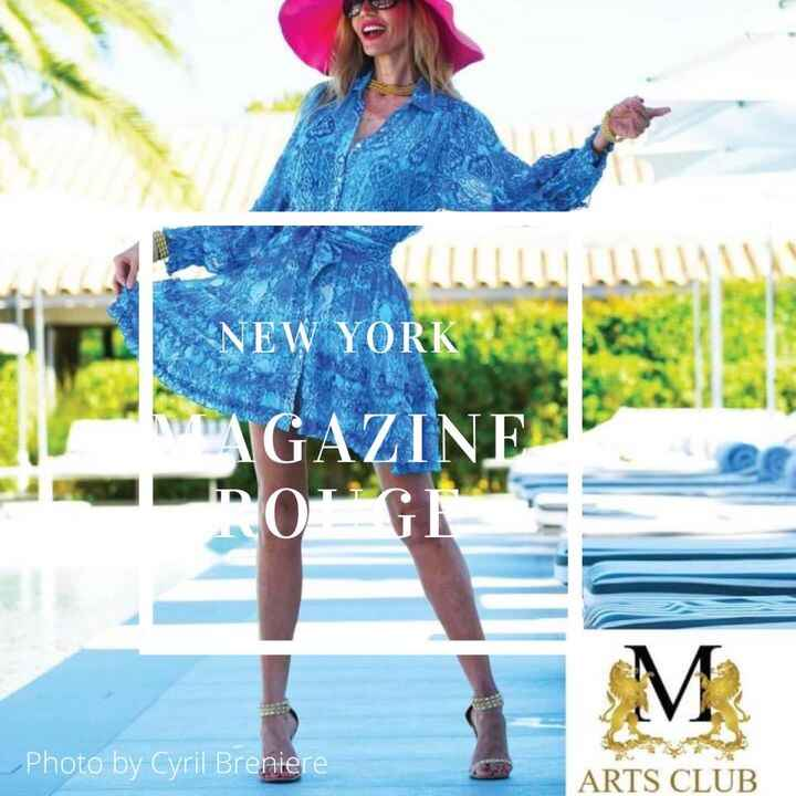 Thank you for sharing!  It is a pleasure. #rougemagazine #sttropez #art #TheArtsLiveHere