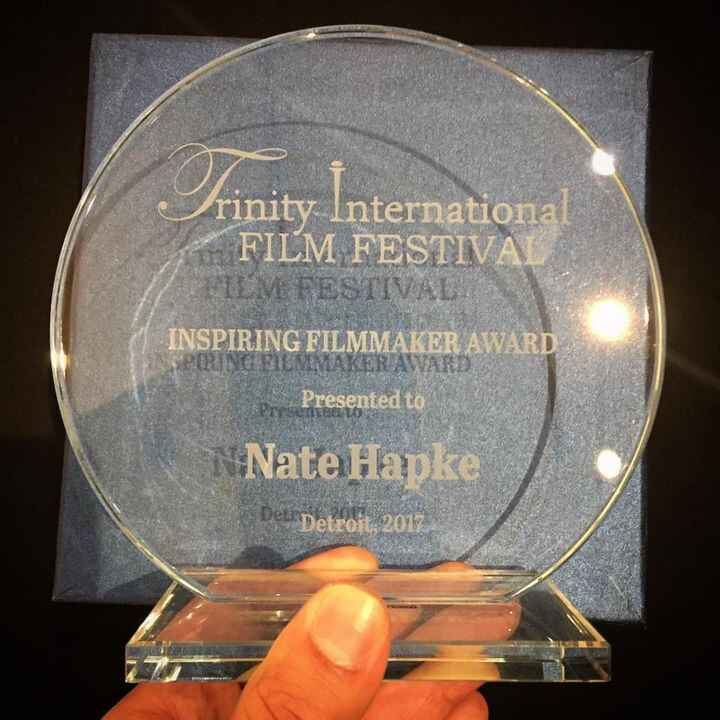 Our Writer/Director took home the Inspiring Filmmaker Award at the 11th Annual Trinity International Film Festival. What...