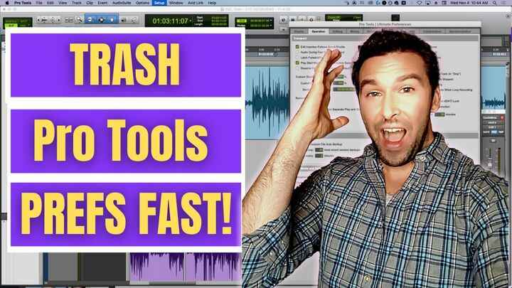 Trashing Preferences in Pro Tools is a necessary evil sometimes. But with this tip, it can be fast and easy!https://buff...