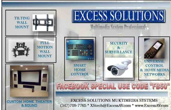 FACEBOOK SUMMER SALE....ALL MEDIA SYSTEMS AND SERVICES!!TV MOUNTS 50% OFF..CAMERA SYSTEMS BUY 3 CAMERAS GET 1 FREE!!!