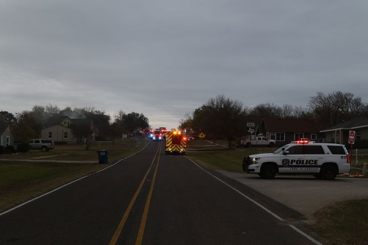 A few snaps from a structure fire today in Prosper on Broadway St.  Nobody was hurt, but unfortunately the family lost e...
