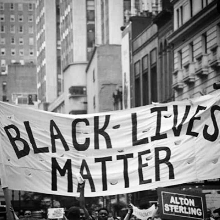 We stand in solidarity with all black people right! This madness and injustice must end not just in America but all over...