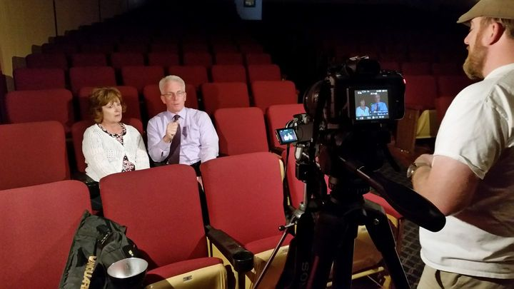 Steve Fennington and his wife Karen talk about Althiemers and the memory ball fundraiser.ThrowbackFlix will be showing T...