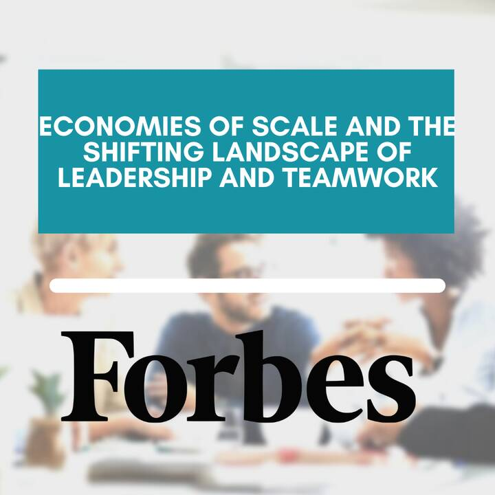 As the world rapidly changes, so too do our expectations for leadership and teamwork. The Glimpse Group business model, ...