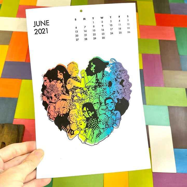 As the official #Pride month winds down, our #PickwickCalendar by alum @stroobi reminds us that we're QUEER ALL YEAR! Th...