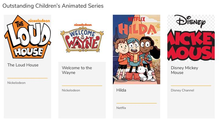 Congratulation to Welcome To The Wayne for an Emmy Nomination for Outstanding Children's Animated Series. We're proud to...